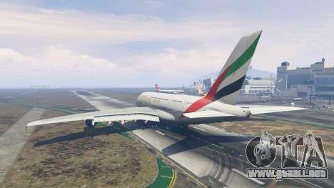 GTA 5 Airbus A380-800 tercera captura de pantalla