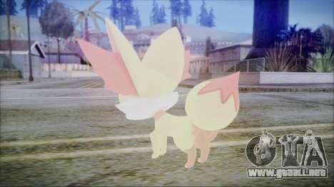 Fennekin (Pokemon XY) para GTA San Andreas segunda pantalla