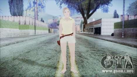 Steph Skin para GTA San Andreas segunda pantalla