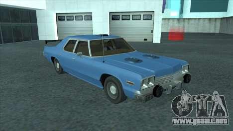 Dodge Monaco V8 7.2L 1974 para visión interna GTA San Andreas