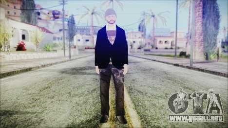 GTA Online Skin 25 para GTA San Andreas segunda pantalla