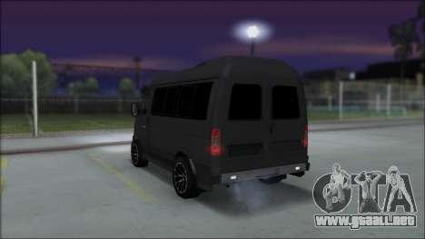 Gas 2217 Luxe para GTA San Andreas left