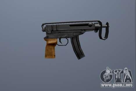 PP Escorpio para GTA San Andreas segunda pantalla