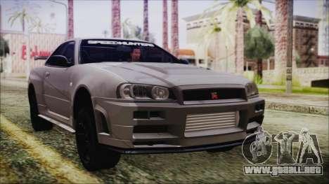 Nissan Skyline Nismo Body Kit para GTA San Andreas