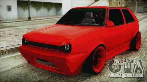 Volkswagen Golf 2 Ghetto Cult para GTA San Andreas