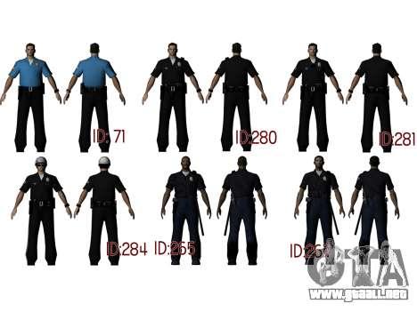 PD Retextur Pack para GTA San Andreas