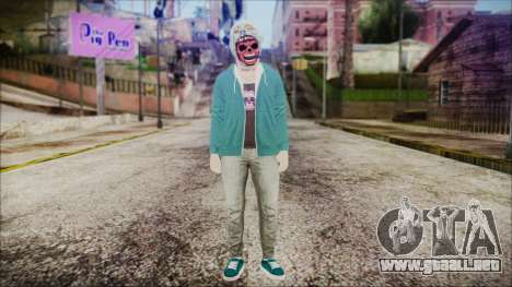GTA Online Skin 21 para GTA San Andreas segunda pantalla