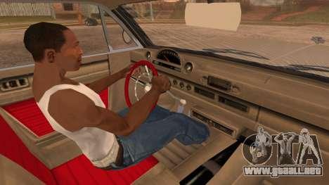 GTA 5 Declasse Clean Voodoo Bobble Version para la visión correcta GTA San Andreas