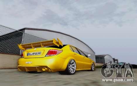 Ikco Dena Full Tuning para GTA San Andreas vista posterior izquierda