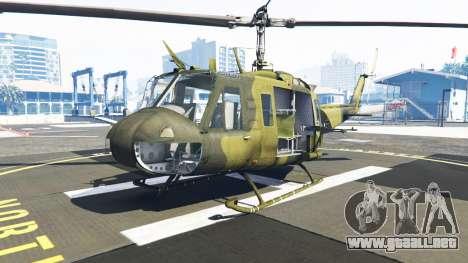 GTA 5 Bell UH-1D Huey Bundeswehr