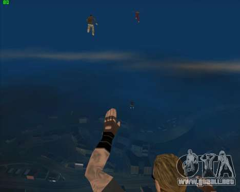 La locura en el estado de San Andreas v1.0 para GTA San Andreas octavo de pantalla