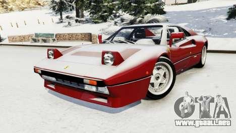 Ferrari 288 GTO 1984 para GTA 5