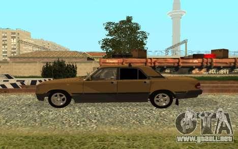 GAS 3110 Volga para GTA San Andreas left