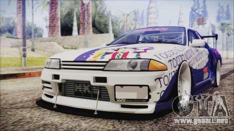 Nissan Skyline R32 Nozomi Toujo Itasha para GTA San Andreas