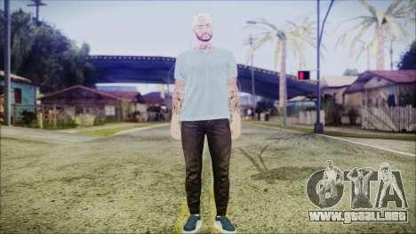 GTA Online Skin 5 para GTA San Andreas segunda pantalla
