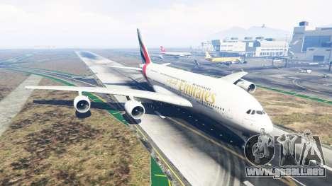 GTA 5 Airbus A380-800