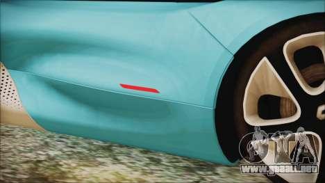 Renault Dezir Concept 2010 v1.0 para la vista superior GTA San Andreas