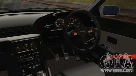 Nissan Skyline R32 Nozomi Toujo Itasha para la visión correcta GTA San Andreas