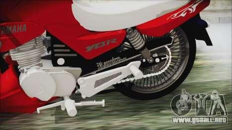 Yamaha YBR Tuning para la visión correcta GTA San Andreas