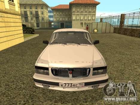GAZ Volga 3110 para la visión correcta GTA San Andreas