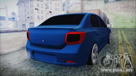 Dacia Logan 2015 para GTA San Andreas left