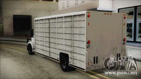 Indonesian Benson Truck In Real Life Version para GTA San Andreas left
