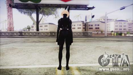 Blonde Domino from Deadpool para GTA San Andreas tercera pantalla