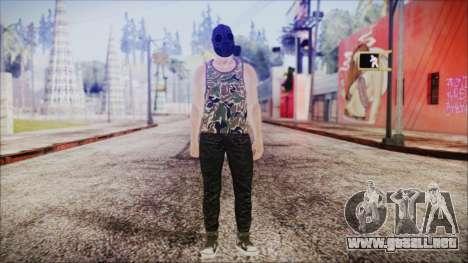 GTA Online Skin 6 para GTA San Andreas segunda pantalla