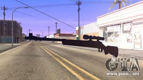 Remington 700 HD para GTA San Andreas segunda pantalla