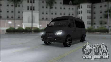 Gas 2217 Luxe para GTA San Andreas