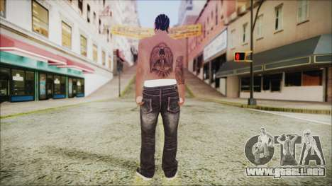 Skin GTA Online 1 para GTA San Andreas tercera pantalla