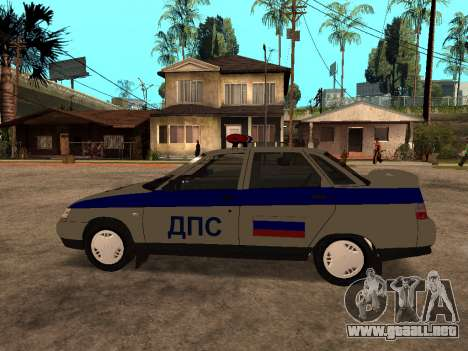 VAZ 2110 DPS para GTA San Andreas left