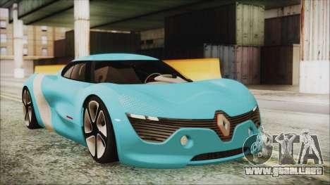 Renault Dezir Concept 2010 v1.0 para GTA San Andreas