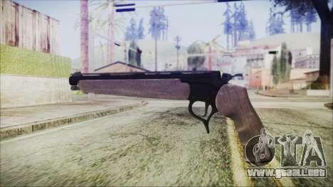 GTA 5 Marksman Pistol - Misterix 4 Weapons para GTA San Andreas segunda pantalla