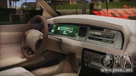 Toyota Crown VIP para la visión correcta GTA San Andreas