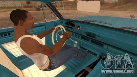 GTA 5 Declasse Clean Voodoo Bobble Version IVF para GTA San Andreas vista posterior izquierda