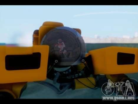 GTA 5 Kraken v1 para GTA San Andreas vista posterior izquierda