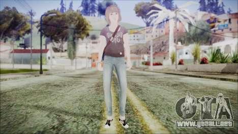 Life is Strange Episode 5-1 Max para GTA San Andreas segunda pantalla
