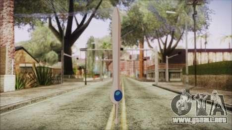 Finn Sword from Adventure Time para GTA San Andreas segunda pantalla