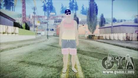 GTA Online Skin 31 para GTA San Andreas segunda pantalla
