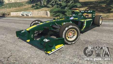 GTA 5 Lotus T127 vista lateral derecha