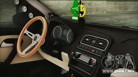 Volkswagen Polo 1.2 TSI para la visión correcta GTA San Andreas