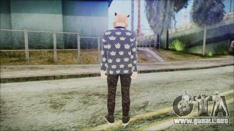 GTA Online Skin 58 para GTA San Andreas tercera pantalla
