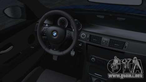 BMW M3 GTS 2011 HQLM para la visión correcta GTA San Andreas