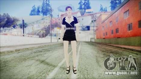Lara Flaca Business Suit para GTA San Andreas segunda pantalla