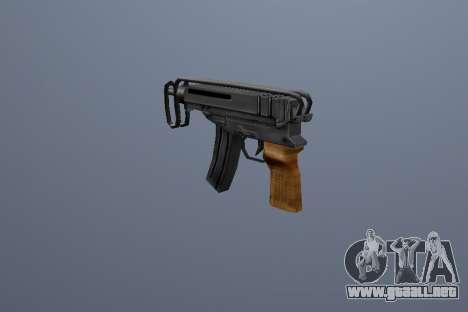 PP Escorpio para GTA San Andreas tercera pantalla