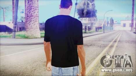 T-Shirt Cane Christmas para GTA San Andreas tercera pantalla