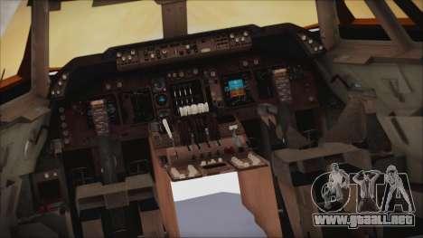 Boeing 747-237Bs Air India Vikramaditya para la visión correcta GTA San Andreas