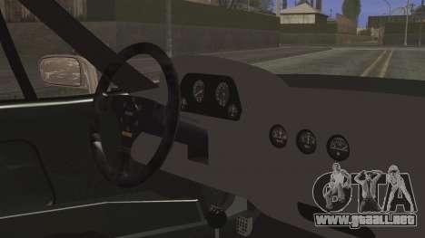Ferrari F40 Gas Monkey para la visión correcta GTA San Andreas