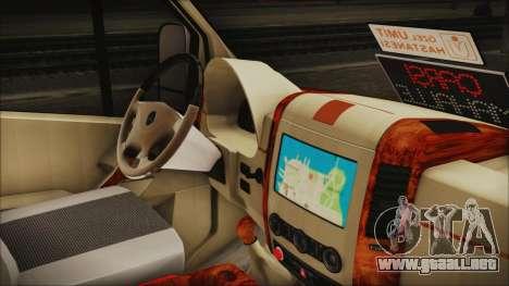 Mercedes-Benz Sprinter 26 M 0009 para la visión correcta GTA San Andreas